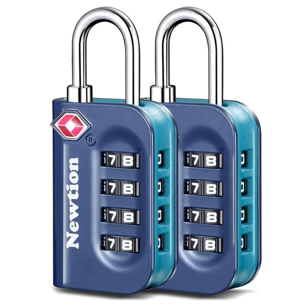 Newtion TSA Lock 2 Pack,TSA Approved Luggage lock