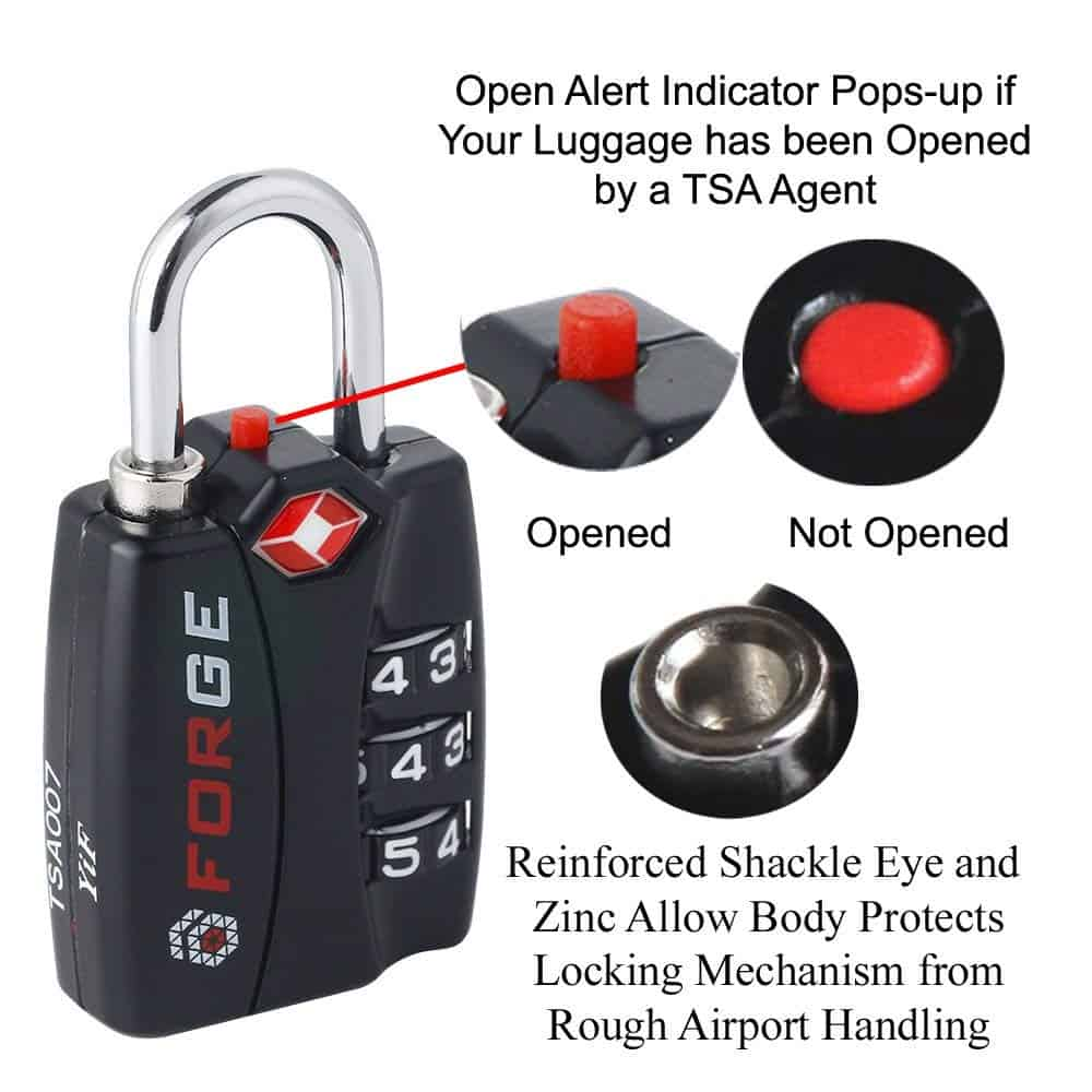 fca3b2aa9c67 11 Best Luggage Locks (2019) The Truth About Suitcase Locks