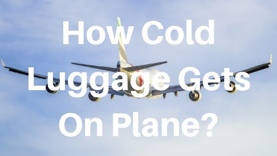 How cold does luggage get on a plane