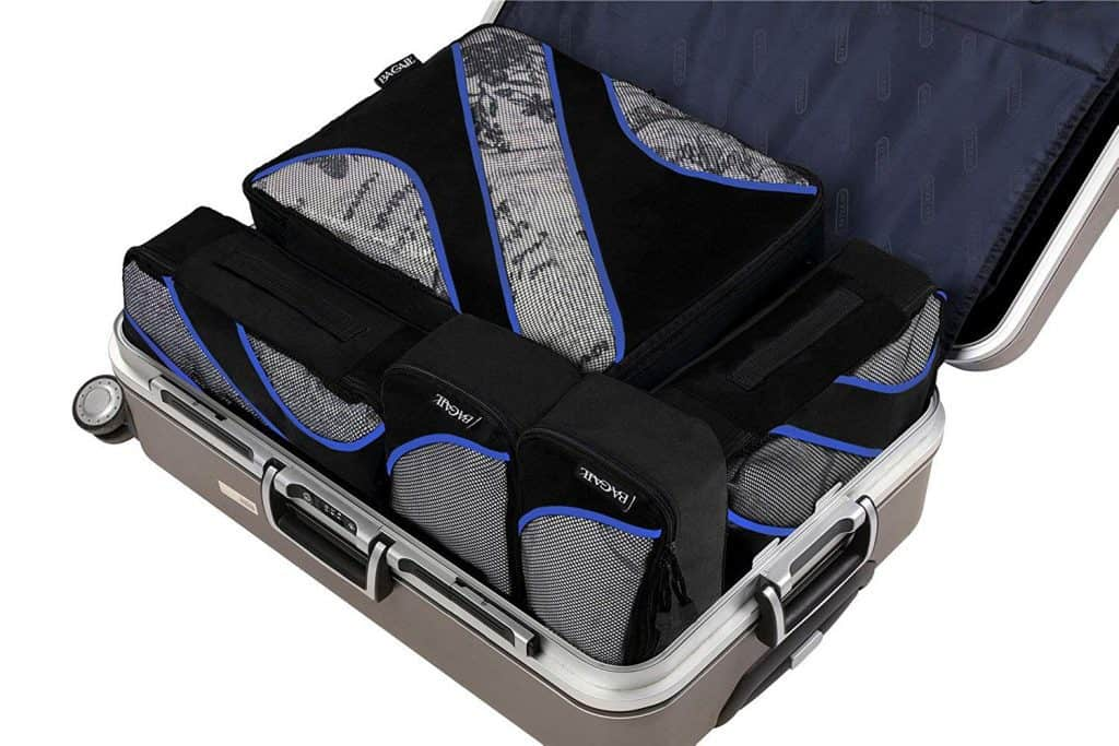 luggage packing cubes