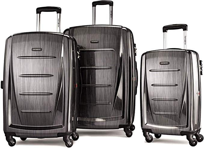 samsonite what luggage brand has the best wheels