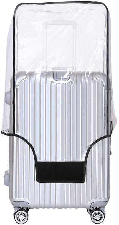 clear pvc do luggage covers work