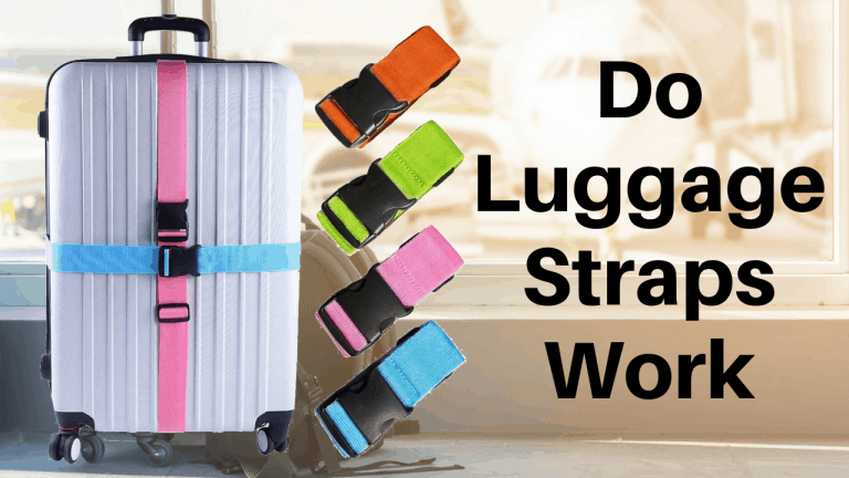 do luggage straps work