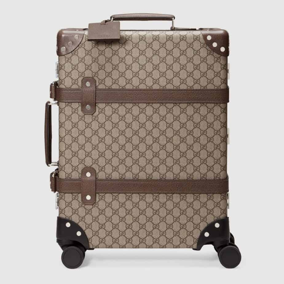 gucci away what luggage do celebrities use