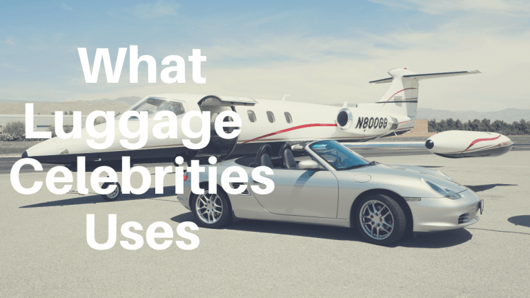 what luggage do celebrities use
