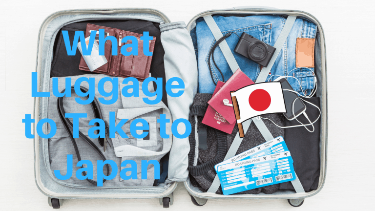 what luggage to take to japan